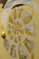 Spirale: Acryl, Spachtel, Art-metall  50 x 100 cm